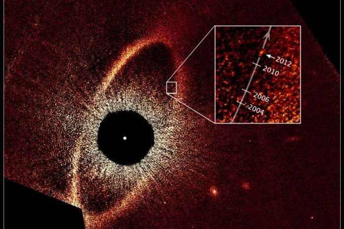 Study: Exoplanet apparently disappears in latest Hubble observations