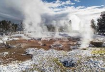 Report: Discovery of ancient super-eruptions indicates the Yellowstone hotspot may be waning