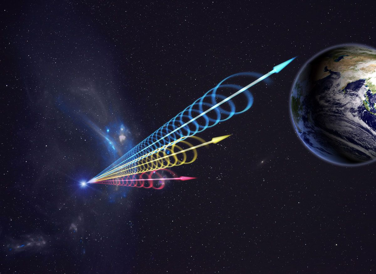 Scientists spot cyclical pattern in mysterious cosmic radio bursts