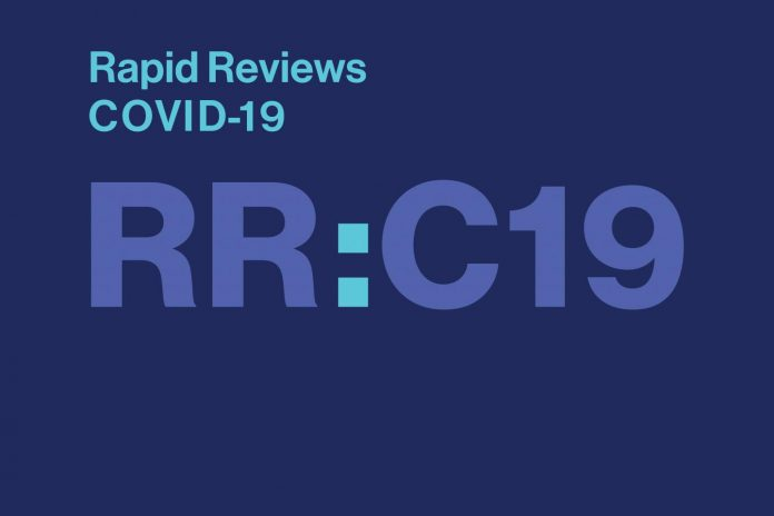 The MIT Press and UC Berkeley launch Rapid Reviews: COVID-19 journal