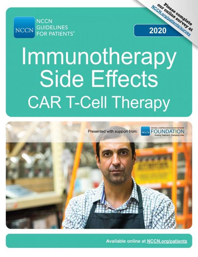 NCCN: What people with cancer and their caregivers need to know about CAR T-cell therapy