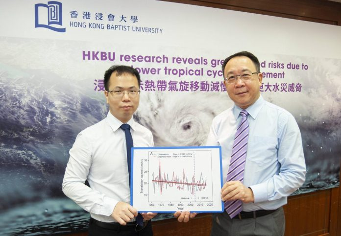 HKBU research reveals greater flood risks in the coastal region of China