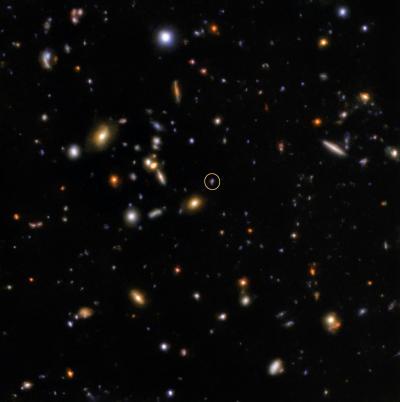 Gemini Observatory's quick reflexes capture fleeting flash
