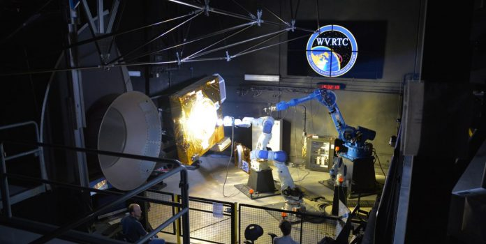 WVU Robotic Technology Center and Maxar Technologies partner on the future of in-space assembly