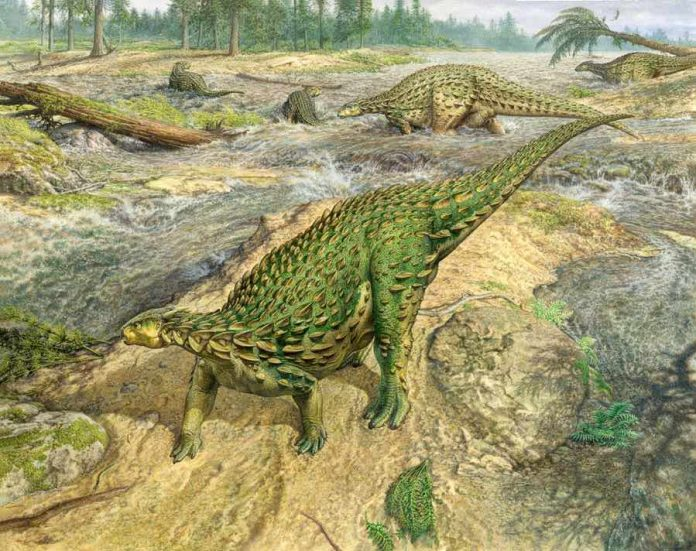 First complete dinosaur skeleton, found in 1858, finally gets its due Social Sharing