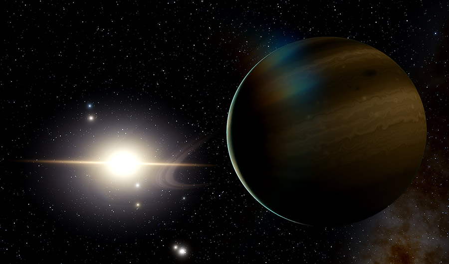Planet found orbiting a dead white dwarf star says new research