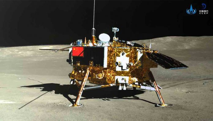 Research: First measurements of radiation levels on the moon
