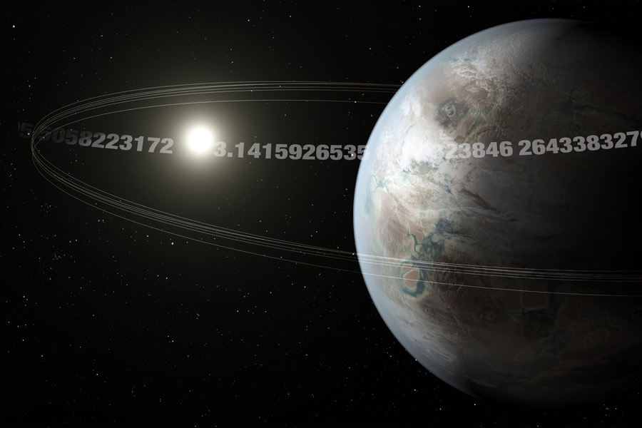 Astronomers discover an alien Earth-sized 'Pi planet' with weird orbit