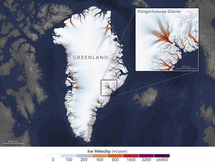 Ocean forcing drives glacier retreat in Greenland (Study)