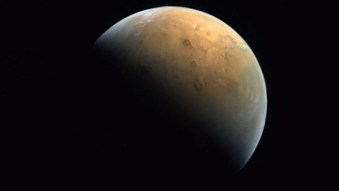 Picture: The UAE Space Agency Releases Hope Probe Photo of Mars