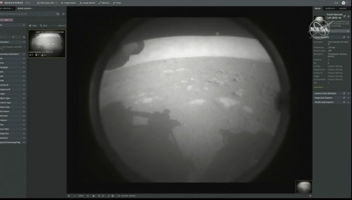 Touchdown! Perseverance Rover Landing on Mars