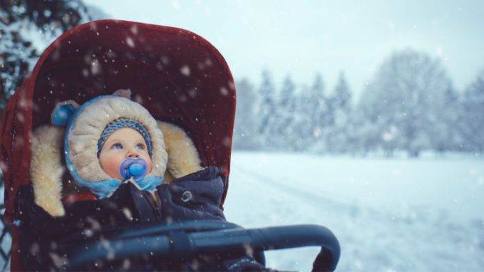 How-to keep your toddler safe in 3-feet of snow